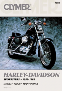 Clymer Book HD M419