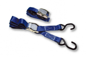 Tie Downs, with cam-buckle and S-hooks
