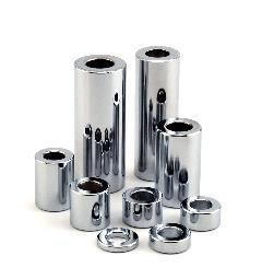 1/4  X 3/8 CHROME SPACER  PACK 5