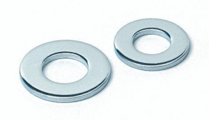 1/4 FLAT WASHERS  PACK 100
