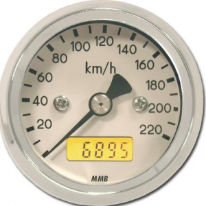 48MM BASIC SPEEDO MPH