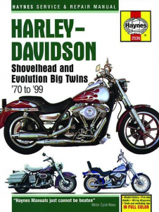 Repair Manual Shovelhead & Evolution Big Twins