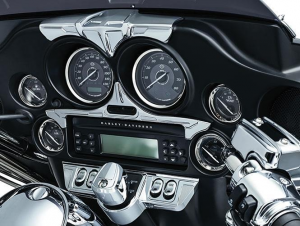 Bahn Speedo & Tach Accent, Chrome