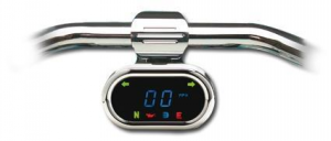 CLASSIC BAR MOUNT BLUE LED SPEEDO