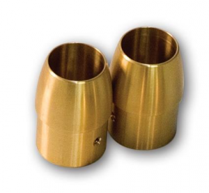 1-3/4 Brass Tappered End Cap