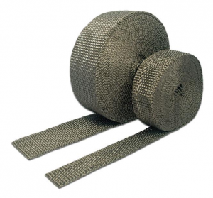 Carbon Fiber Exhaust Wrap 1 x 1/16 x 50 Ft. Roll