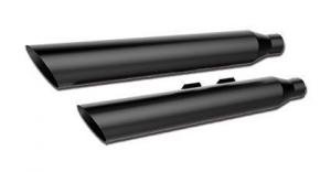 3 HP-Plus Slant Mufflers, Black