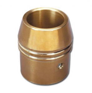 2-1/4 In Brass Exhaust Tip