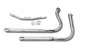 1-3/4 Staggered Duals for Shovels in Swingarm Frames