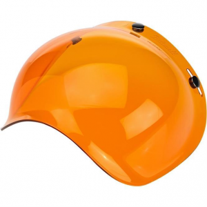 Biltwell Bubble Shield Amber Solid