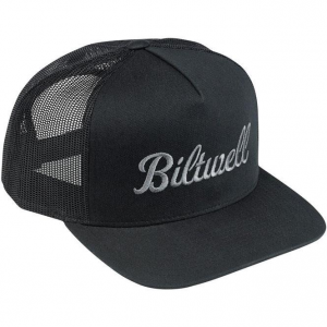 Hat, Script 2, Grey, Black