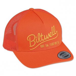Biltwell Headwear, Ride 'Em, Trucker, Orange