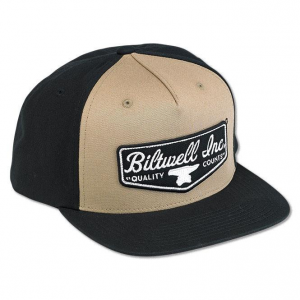 Biltwell Headwear, Shield, Trucker, Black/Beige