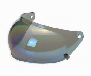 Biltwell, Gringo S Bubble Shield - Rainbow Mirror