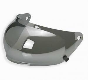 Biltwell, Gringo S Bubble Shield - Chrome Mirror