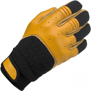 Biltwell, Gloves, Bantam Gloves, Tan, Black