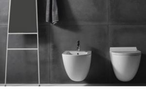 Vaso e bidet sospeso per il bagno monoforo Dream Galassia cm 56 x 36