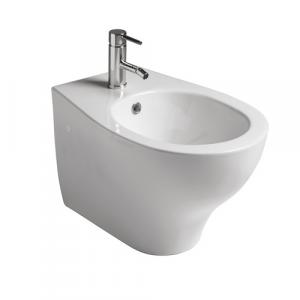 Bidet per il bagno sospeso monoforo cm 53 x 36 Eden Galassia