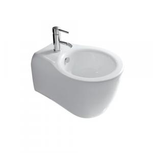 Bidet per il bagno sospeso monoforo cm 51 x 36 Ergo Galassia