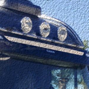 IVECO Fascia visiera parasole Hi-Way (solo per cabina tetto alto)