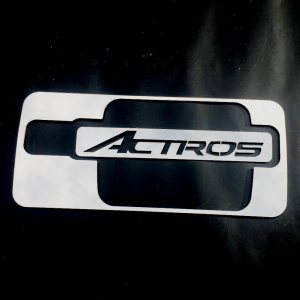 MERCEDES Handle Cover With 'Actros' Inscription