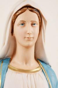 Statua Madonna Miracolosa in resina PA602 h. 60