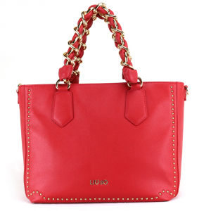 Hand and shoulder bag Liu Jo LOVELY U A18020 E0010 CHERRY RED
