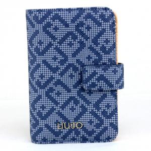 Woman wallet Liu Jo MANHATTAN A18175 E0017 BLU POLVERE
