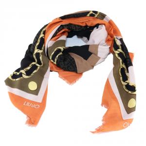 Headscarf Liu Jo LOGO A18245 T0300 PARROT