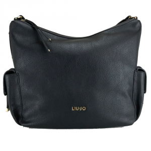 Shoulder bag Liu Jo BEAULIEU A67034 E0033 NERO
