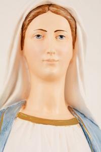 Statua Madonna Miracolosa in Resina h. 80