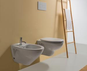 Vaso sospeso per il bagno cm 52 x 35 Arianna Globo