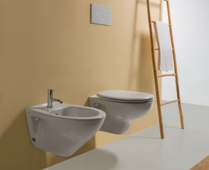 Bidet sospeso per il bagno cm 52 x 35 Arianna Globo