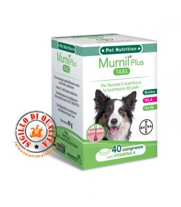 Integratore per il pelo Bayer Murnil Plus Tabs 40 compresse