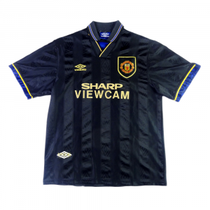 1993-95 Manchester United MAGLIA Away L (Top)