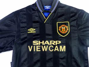 1993-95 Manchester United MAGLIA Away L (Top)