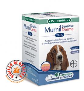 Supporto della funzione dermica BAYER Murnil Sensitive Derma 40 compresse