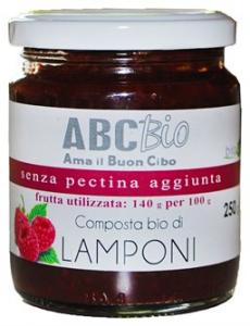 Composta di Lamponi Bio - Marmellata Senza pectina aggiunta