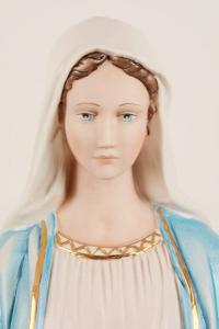 Statua Madonna Miracolosa in porcellana PING-MM62 h. 62