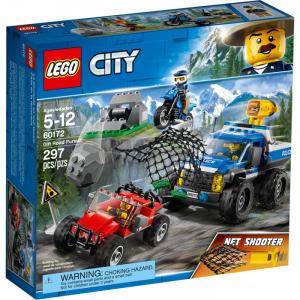 LEGO CITY DUELLO FUORI STRADA 60172