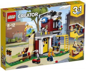 LEGO CREATOR SKATE HOUSE MODULARE 31081