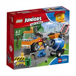 LEGO JUNIORS CAMION DELLA MANUTENZIONE STRADALE 10750