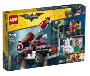 LEGO BATMAN MOVIE ATTACCO CON IL CANNONE DI HARLEY QUINN 70921