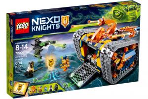 LEGO NEXO KNIGHTS ARSENALE ROTOLANTE DI AXL 72006