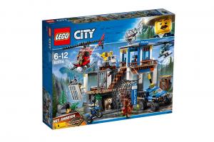 LEGO CITY QUARTIER GENERALE DELLA POLIZIA DI MONTAGNA 60174