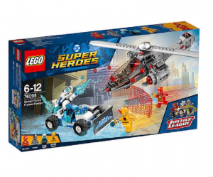 LEGO SUPER HEROES L'INSEGUIMENTO CONGELANTE DELLA SPEED FORCE 76098