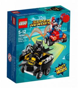 LEGO SUPER HEROES MIGHTY MICROS: BATMAN CONTRO HARLEY QUINN 76092