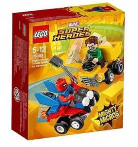 LEGO SUPER HEROES MIGHTY MICROS: SCARLET SPIDER CONTRO L'UOMO SABBIA 76089