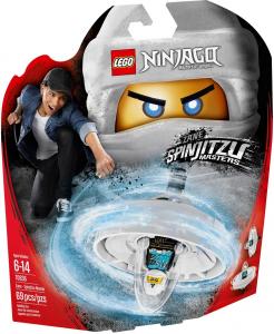 LEGO NINJAGO ZANE - MAESTRO DI SPINJITZU 70636