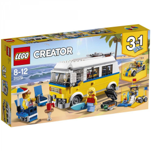 LEGO CREATOR SURFER VAN GIALLO 31079